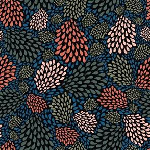 Organic drops texture