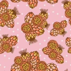 Artichoke flower bouquette