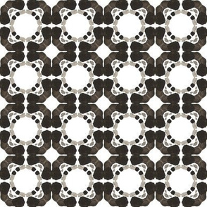 19-11x Neutral Geometric Black White Gray