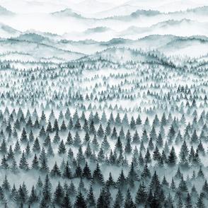 Walden in grey tones, 2 yards high