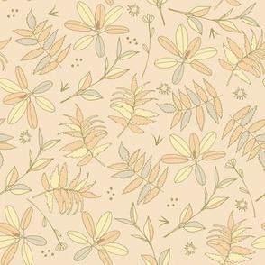 Soft leaves | peach