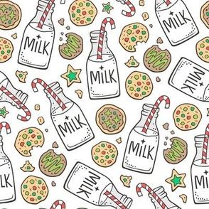 Christmas Milk & Cookies