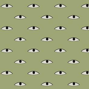 Medieval Eyes Heraldic Design - 14th century