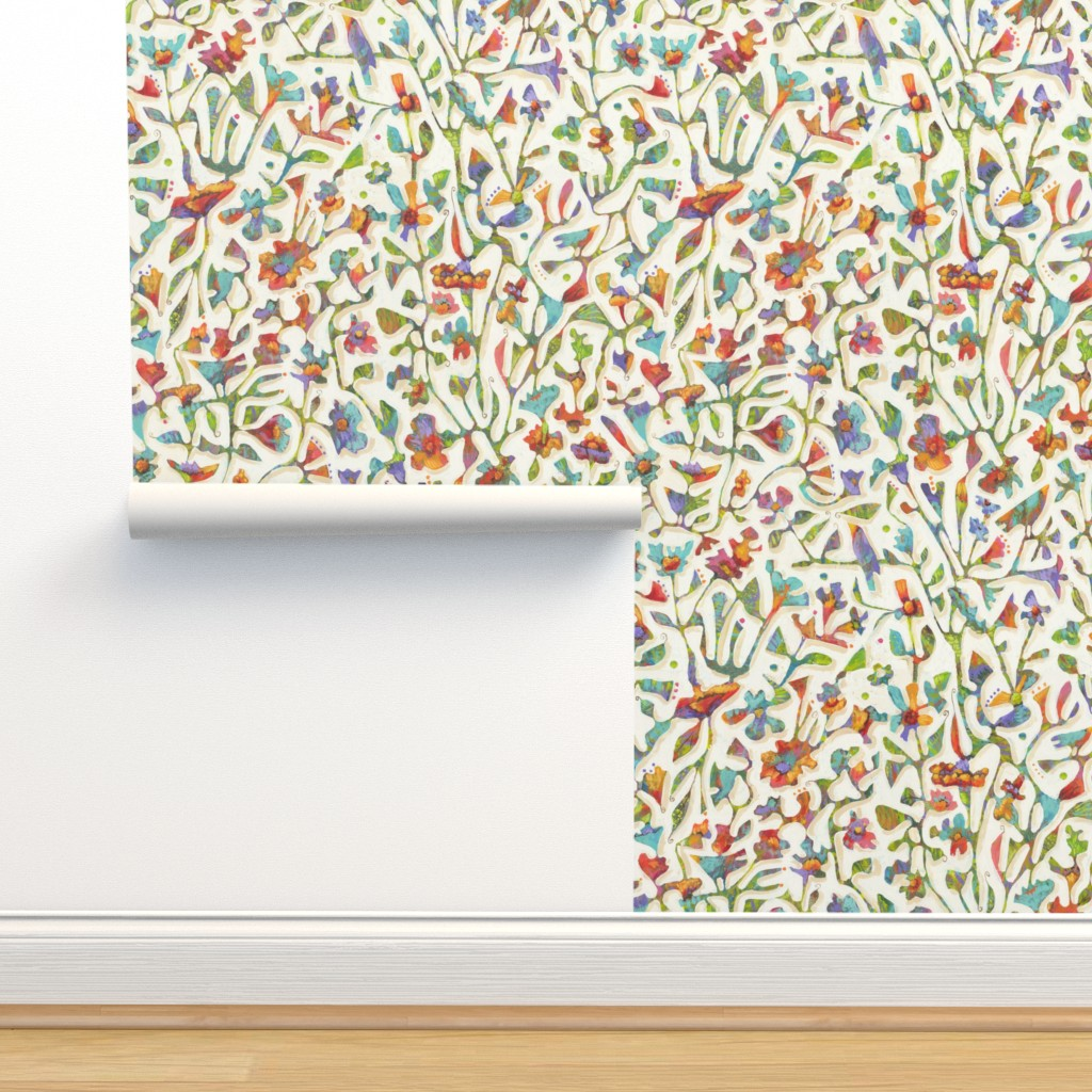 Isobar Durable Wallpaper featuring Bird Song  by janetnelson