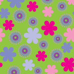 Flower Power - green