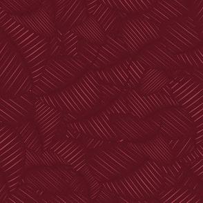 Neutral red bordeaux geometric pattern