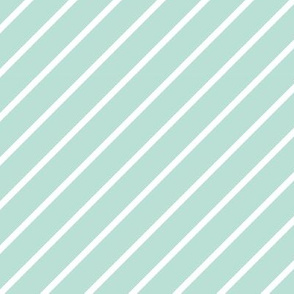 Mint-Stripe 6x6