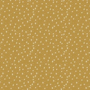 Snow sparkle in gold 3x3