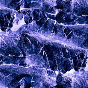ROCKS AND SEA SLATE BLUE INDIGO PURPLE PSMGE
