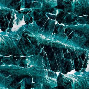 large ROCKS AND SEA EMERALD GREEN PSMGE