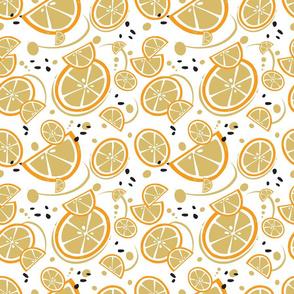 Oranges and Orange Tan Slices