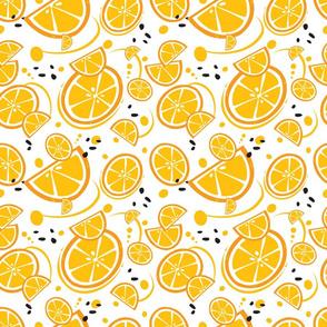 Oranges and Orange Slices