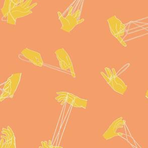 String Figures: Tangerine Lemon