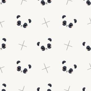 little panda faces