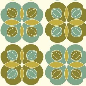 Amla Berry Green Offwhite Medium