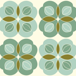 Amla Berry Offwhite Light Green Large