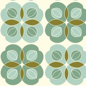 Amla Berry Offwhite Light Green Medium