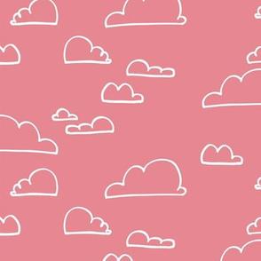 Clouds Pastel Pink