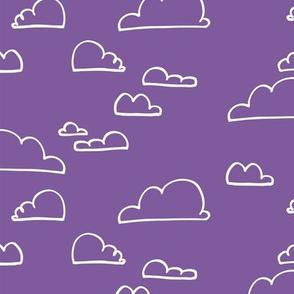 Clouds Purple