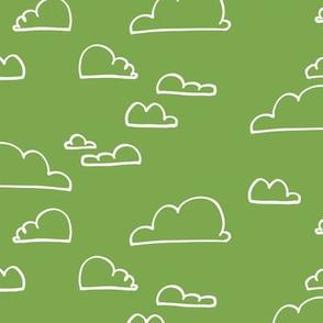 Clouds Green