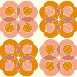 Amla Berry Offwhite Orange Large