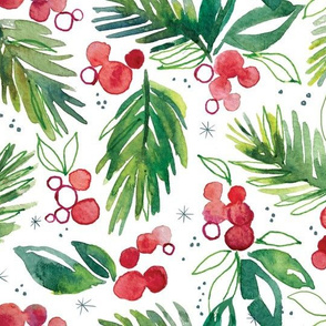 Winter Berry Sprig