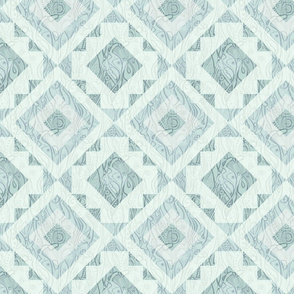 Neutral Green Gray Kilim