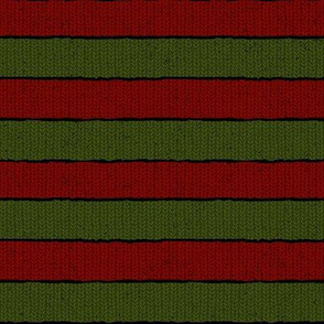 Horror Film Red & Green Sweater