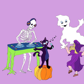 Halloween Party Purple