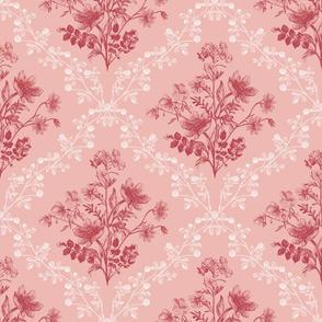Vintage Floral Pink