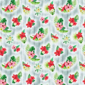 Tropical Floral Rustic