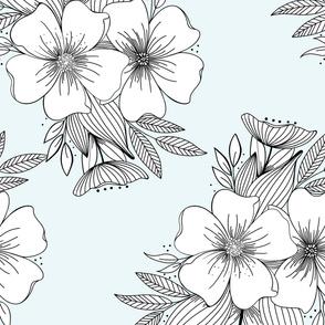 Floral Spray Mint