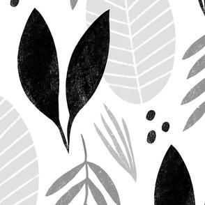 Big neutral leaves