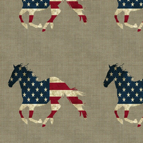 American Horse Repeat Large