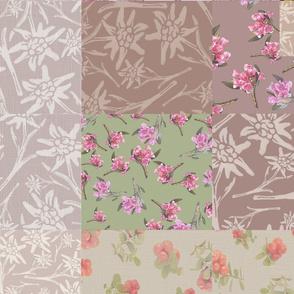 Alpine Herbarium Quilt