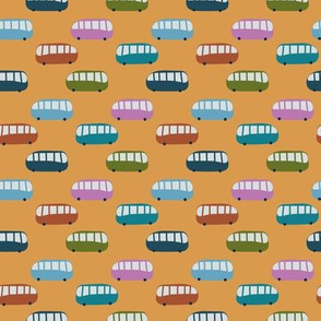 cute buses by rysunki_malunki