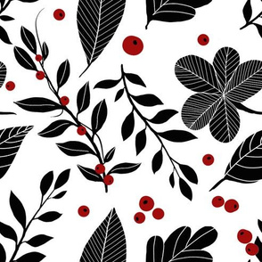 1037 black and red floral 01