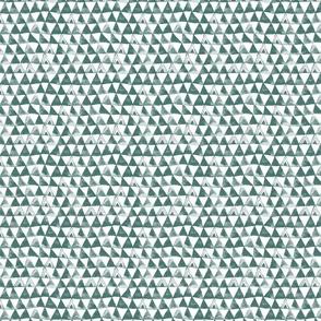 Tribal Bohemian Triangles / Pine Green