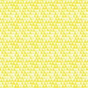 Tribal Bohemian Triangles / Yellow