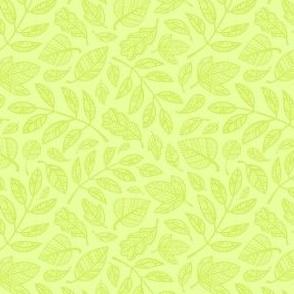 Spring Leaves / Green