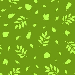 Tiny Leaves / Green