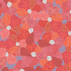 Daisies red version