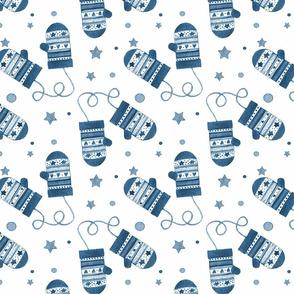 1188 C Blue Mittens