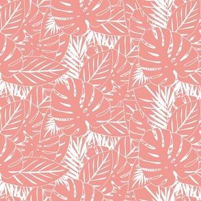 Leaf Print Apricot
