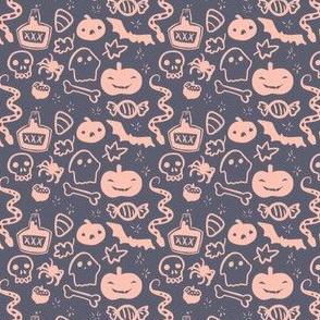 Tiny Halloween Print