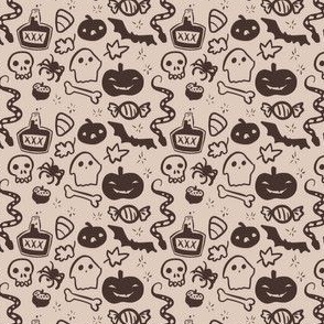 Tiny Halloween Print - Coco Dust