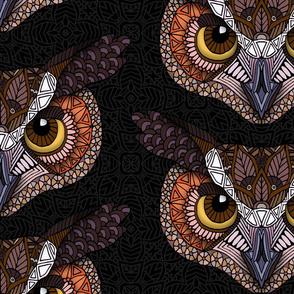 2019 OWL HEAD PATTERN DARK 32