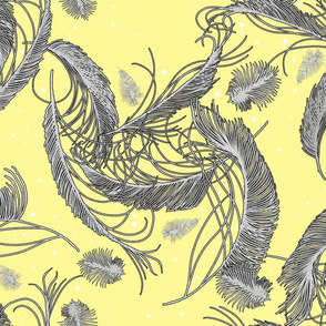 sweet dreams plumes yellow