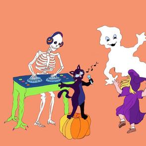 Halloween Party Orange
