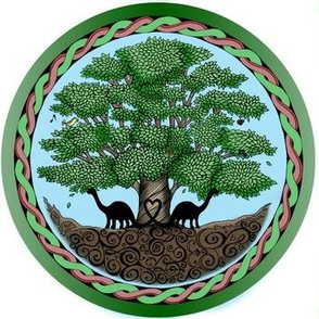 Spring Dino Tree